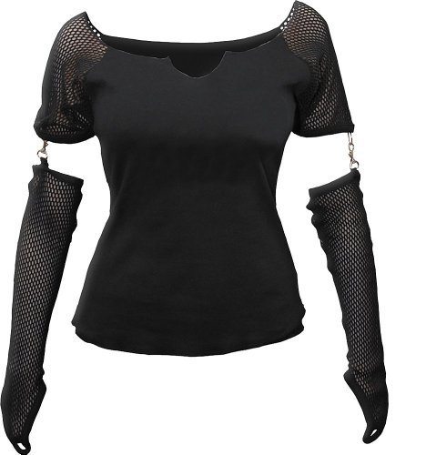 Spiral -  Maglia a manica lunga  - Donna nero XL