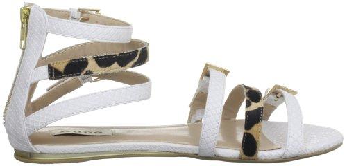 Dune Jewel, Damen Sandalen Weiß (White)