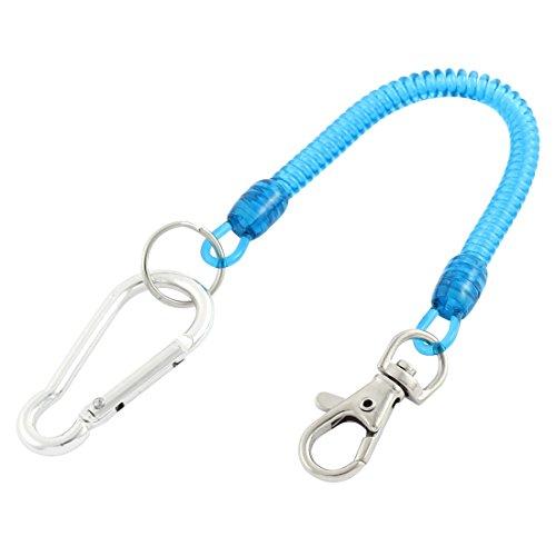 sourcingmapr-karabinerhaken-spule-lanyard-blaue-fruhlings-schlusselband-hummer-haken