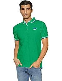 Being Human Men's Solid Regular Fit T-Shirt