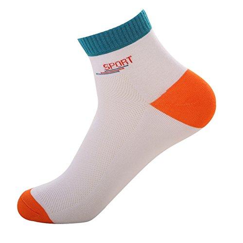 Estwell Mens Sports Socks 5 Pairs Cotton Crew Socks