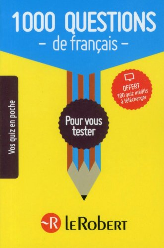 1 000 questions de français pour vous tester