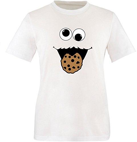 ter Kinder T-Shirt (Mädchen Cookie Monster Kostüm)