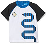 Inter (Kids Shoes) I008/AZ, Camiseta Para Bebés, Bianco (White/Bianco), 92 cm
