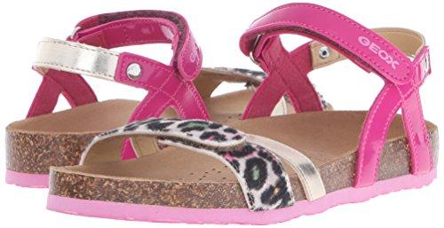 Geox Mädchen J New Aloha G Sandalen, Pink (C8002), 36 EU -