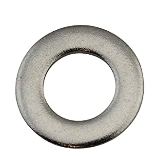 D2D | VPE: 10 Stück - Unterlegscheiben Form A - Größe: M5 - DIN 125 - Edelstahl A2 V2A - Beilagscheiben Unterlagscheiben