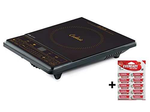 Eveready Ic101 1600-watt Induction Cooker (black)