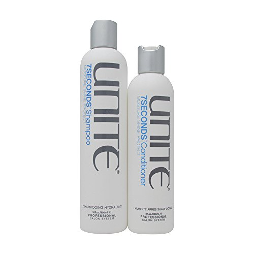 Bundle-2 Items : Unite 7 Seconds Shampoo, 10 OZ & Unite 7 Seconds Conditioner, 8 OZ