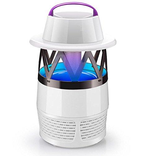 AMZH Indoor Elektrische Moskito Killer UV LED Fly Stille Nacht Lampen USB Powered Insekt Proof Maschine Schädlingsbekämpfung Lieferungen , white (Die Raid-killer)
