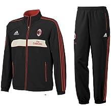 adidas 2012-13 AC Milan Chándal (Negro) presentación 1dce9b57a77e2