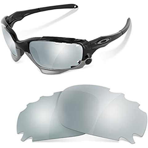 Sunglasses Restorer Lenti Polarizzate Titanium di Ricambio per Oakley Racing Jacket Ventilate