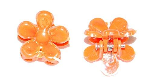 2 Mini pinces crabe fleur
