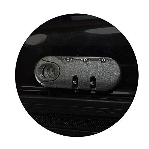 balvi-Trolley-KofferAirportinKabinengröße.ABS-Hartschalenkoffer.Mit4Rädern.
