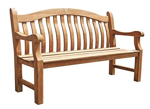 Royalcraft 149201–Balmoral 3Sitzer Teak Bank Gartenbank, Holz, 100x 100x 100cm