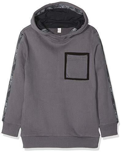 ESPRIT KIDS Jungen RM1506609 Sweatshirt, Grau (Grey 230), 164 (Herstellergröße:L) Youth-fleece-sweatshirt