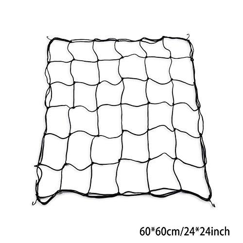 Flexible Net Trellis -Elastic Trellis Netting mit 4 Stahlhaken für Wachsen Zelte Garten - Zelt Wachsen 3x4