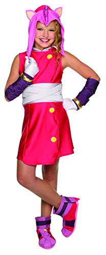 Sonic Boom Amy Child Costume Large (Sonic Fancy Dress The Kostüm Hedgehog)