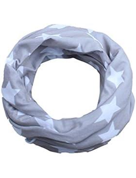 prevently marca nueva moda otoño y el invierno brillante mezcla de algodón patrón de niños niñas estrella collar...