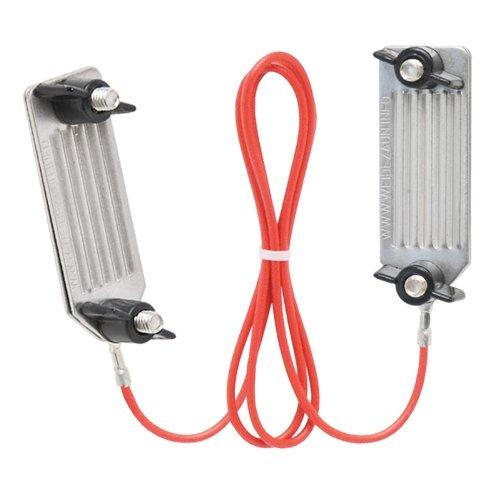câble de jonction ruban, à vis, 60 cm, acier INOX, pour clôture électrique