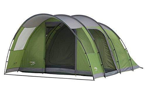 Vango Tigres 500 Zelt - 5 Personen Familienzelt Paket inkl. Teppich & Fußabdruck (Zelt-pakete)