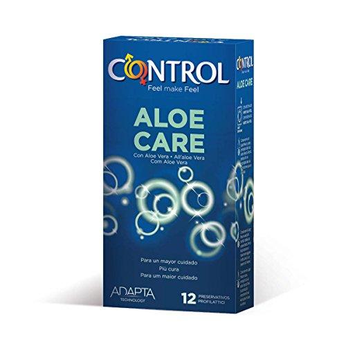 Preservativos control aloe care 12 u