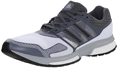 Adidas Response-Boost 2 Techfit Herrenlaufschuh 6 White-Onix White/Grey/Grey