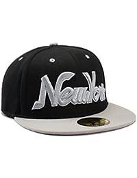 NEW YORK Empire Grey & Black Snapback Baseball Cap by Snapbacks