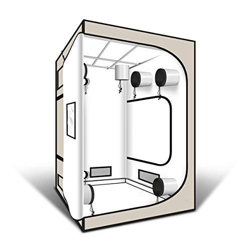 Tente G-PRO WHITE EDITION 150x150x200 cm - Greencube
