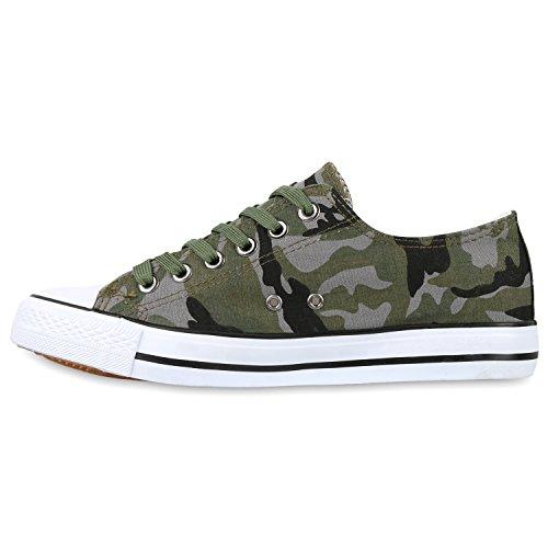 Herren Sneakers | Freizeitschuhe Sportschuhe | Schnürer Stoffschuhe |Fitness Streetstyle | viele Farben Camouflage Hell