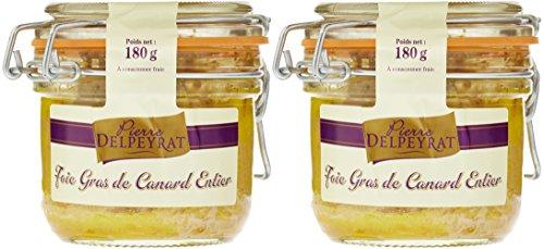 Pierre Delpeyrat Set de 2 Foies Gras de Canard Entiers