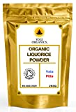 Organic Liquorice Root Powder 250g - Premium Grade - Certified Organic by The Soil Association - £9.49 Free Delivery by Yogi Organics