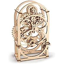 ugears 70004–Temporizador mecánico reloj 3d madera Kit sin pegamento