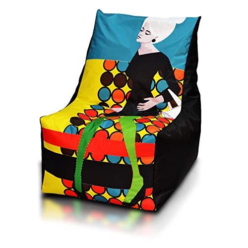Markt Kraft Sitzsack XXL, Kissen, Modern Polyester - Premium Qualität