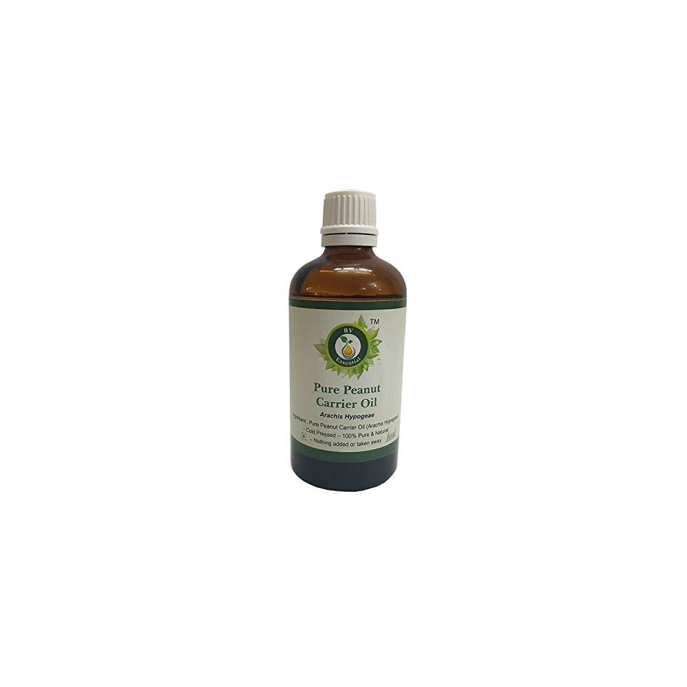 R V Essential Reine Erdnuss Trger L Arachis Hypogeae 100 Reines Und Natrliche Kaltgepresste Pure Peanut Carrier Oil