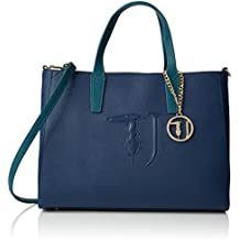TRUSSARDI JEANS Tote bag / Borsa shopping Pelle sintetica