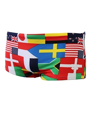 Arena Flags Low Waist Multicolore