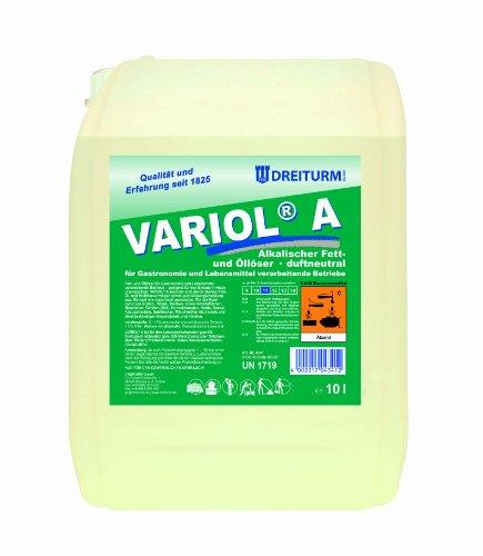 Fettlöser Dreiturm Variol A 10 L