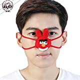 Nasenmaske Warm Zusammenkommen Lustig HäNgen An Der Nase Puppe *2,Red*2