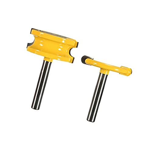 Sharplace Widely Used Router Bit Set DIY Select Furniture Woodworking Cutting Tool - 1/2