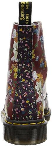 Dr. Martens Damen Pascal Fc Stiefel Mehrfarbig (Multi Floral Mix Backhand)