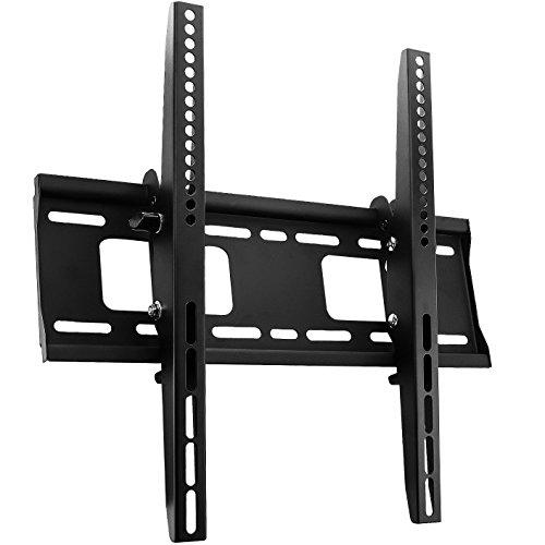 deleyCON universal TV montaje en la pared - 30' - 65' (76cm-165cm) - carga máxima de hasta 75Kg - hasta VESA 400x400mm - inclinable - Plasma LED LCD