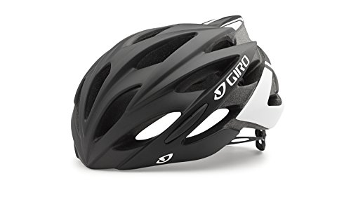 Giro Helmet - Casco de Ciclismo Multiuso, Color Negro (White/Matte Black/White), Talla M