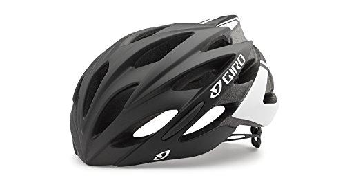 Giro Unisex Fahrradhelm Savant, Matte Black/White, 51-55 cm, 7055007