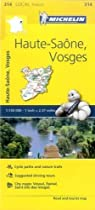 Haute-Saone, Vosges - Michelin Local Map 314