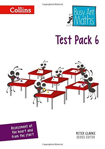 Busy Ant Maths - Test Pack 6 by Martin Marsh (2016-02-25)