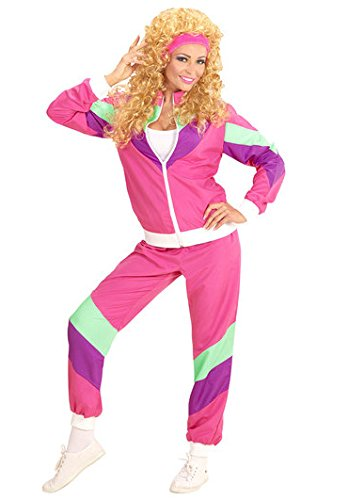 80s Ladies Pink Shell Suit - Large or XL