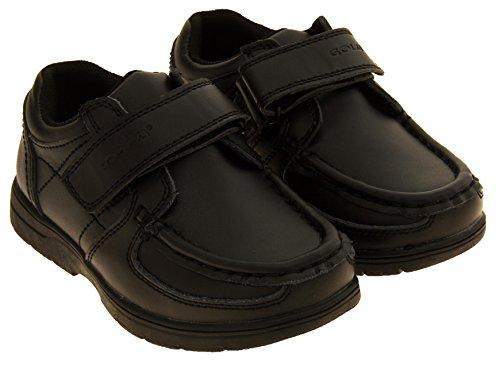 Garçons enfants GOLA Chaussures d'école en cuir revêtues