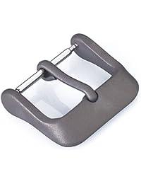 Eichmüller–Titanio hebilla hebilla de repuesto para piel pulseras 22mm