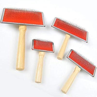Wholesale Comb Wooden Pet Comb Dog Brush Dog Grooming Comb Pet Comb Small by Comomingo-190515