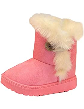 Baby Wildleder Stoff Schnee Stiefel, yoyoug Tolles Geschenk für Ihren Baby Baby keep warm weicher Sohle Schnee...